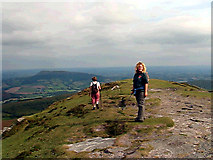 SO2718 : The Summit of the Abergavenny Sugar Loaf by Roy Parkhouse