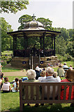 SK0573 : Pavilion gardens Bandstand by Richard Styles