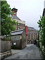 NY1230 : Brewery Lane, Cockermouth home of Jennings Brewery by Alexander P Kapp
