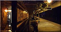 SD9926 : Station platform by Howard Selina