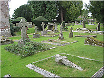 SO5928 : St. Mary's Churchyard, Foy by Pauline E