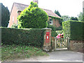 TG0526 : House with Postbox at Guestwick Green by Zorba the Geek