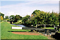 SJ3631 : Frankton Locks. by Edward Williams
