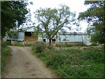 SX0149 : West Towan farm buildings by Gareth