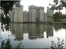 TQ7825 : Bodiam: the castle by Chris Downer