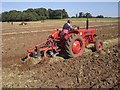 TF8742 : Ploughing Match, Holkham Hall Park by Nigel Jones
