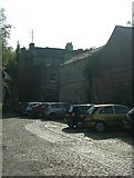 SK3436 : Remains of Short Street in Derby (off Friar Gate) by J147