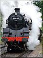SJ9853 : Steam train by Debbie Turner