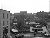 SD8913 : The River Roch goes underground, Rochdale, Lancashire by Dr Neil Clifton