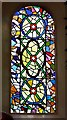NY4348 : Wreay Church -stained glass window by Rose and Trev Clough