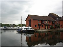 TG3416 : Horning Marina by DS Pugh
