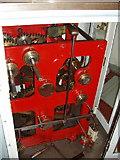NJ9967 : Clockwork to rotate lens system, Kinnaird Head lighthouse by David Hawgood