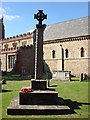 TL7835 : War Memorial in the grounds of St. Nicholas' Church by Oxyman