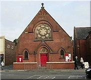 SE3634 : Cross Gates Methodist Church Hall - Austhorpe Road by Betty Longbottom