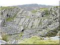 SH7347 : Cwt y Bugail Quarry by Eric Jones