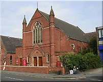 SE3634 : Cross Gates Methodist Church - Austhorpe Road by Betty Longbottom
