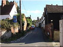 TL7835 : Church Lane, Castle Hedingham by Oxyman