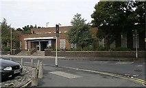 SE3634 : Cross Gates Library - Farm Road by Betty Longbottom