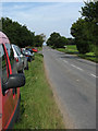 TG3626 : Heading north on Brumstead Road (B1159) by Evelyn Simak