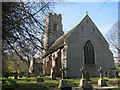 TG3726 : Churchyard of St Peter, Brunstead by Evelyn Simak