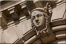 J3474 : Head, Custom House, Belfast (1) by Albert Bridge