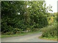 NY4172 : Road junction by Whisk Bridge by Rose and Trev Clough