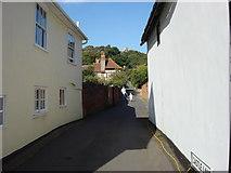 TL7835 : Castle Lane, Castle Hedingham by Oxyman