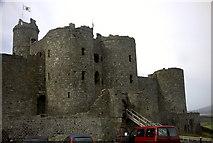 SH5831 : Harlech Castle by Roy Bolton