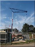 SM7525 : Construction site, St. David's by Pauline E