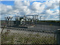 SJ4223 : Electricity Substation by Eirian Evans