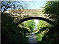 NY0230 : Bridge over cycle path, Seaton village by H Stamper
