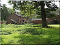 SJ2517 : Derelict buildings at  Rhysnant Hall by John Haynes