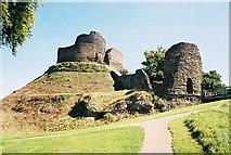 SX3384 : Launceston: the castle by Chris Downer