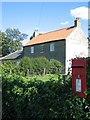 NU2308 : Post box at High Buston by Alison Rawson