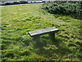 NY0949 : Beckfoot Village Bench by Alexander P Kapp