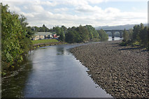 NY7063 : River South Tyne, Haltwhistle by Stephen McKay