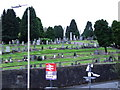 NS3474 : Port Glasgow cemetery by Thomas Nugent