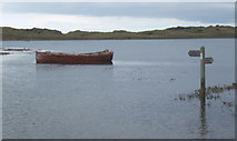 SD0894 : High tide, Esk estuary by Andrew Hill