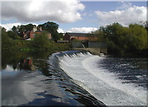 SE4843 : The River Wharfe, Tadcaster by Paul Glazzard