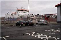 HU4642 : Holmsgarth Terminal by Mike Pennington