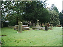 SD7336 : St Mary's and All Saints Church, Whalley, Graveyard by Alexander P Kapp