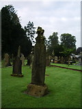 SD7336 : St Mary's and All Saints Church, Whalley, Celtic Cross 2 by Alexander P Kapp