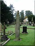 SD7336 : St Mary's and All Saints Church, Whalley, Celtic Cross 3 by Alexander P Kapp
