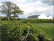J6350 : Estate house near Quintin Castle by Oliver Dixon