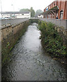 SO6303 : River Lyd, running through Lydney by Pauline E