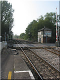 SO6301 : Level Crossing on the Railway to South Wales by Pauline E