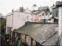 SW9980 : Port Isaac: harbourside rooftops by Chris Downer