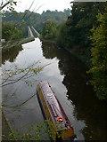 SJ2837 : Telford's Aqueduct at Chirk by Eirian Evans