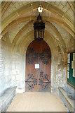 SP7006 : Porch, St Mary's Church by grahamthomas