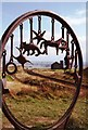 NZ6921 : Sculpture on Cleveland Way by Graham Horn